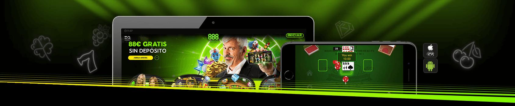 888 Casino móvil 2019