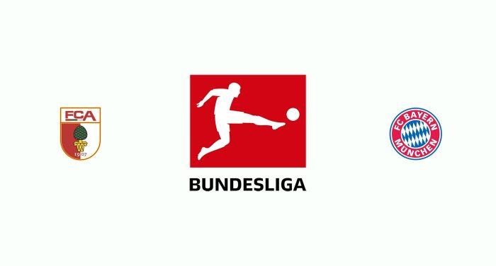 Augsburgo v Bayern Munich Previa, Predicciones y Pronóstico