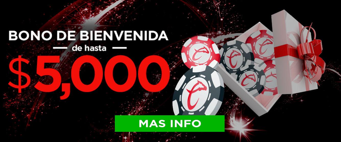 Bonus Bienvenida Caliente Casino