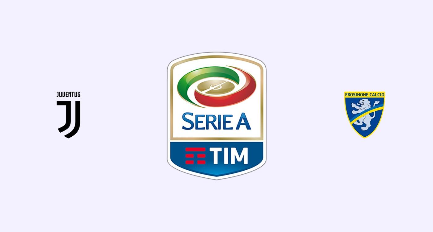 Juventus v Frosinone