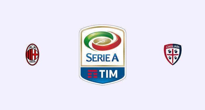 Milán vs Cagliari Previa, Predicciones y Pronóstico 07-02-2019