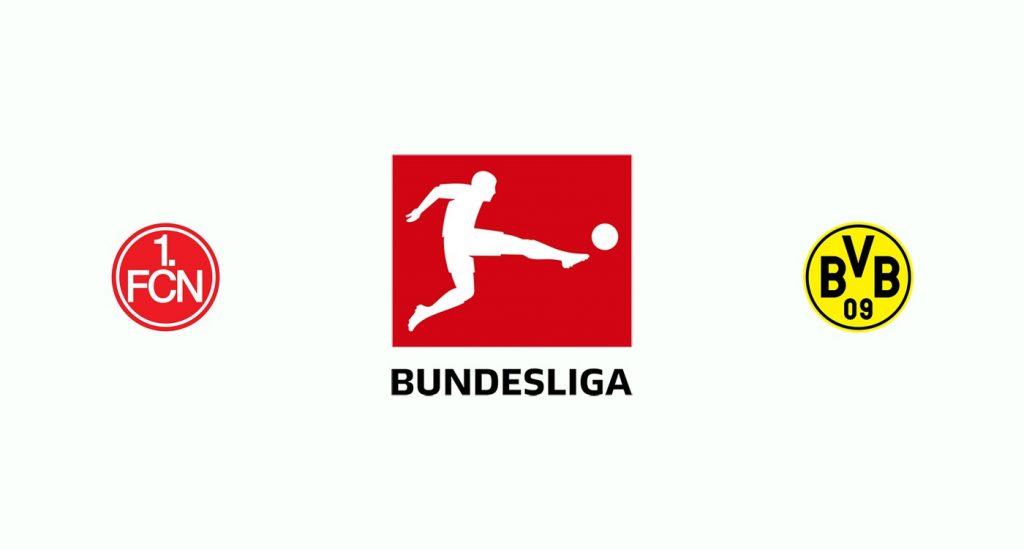 Nuremberg v Borussia Dortmund Previa, Predicciones y Pronóstico