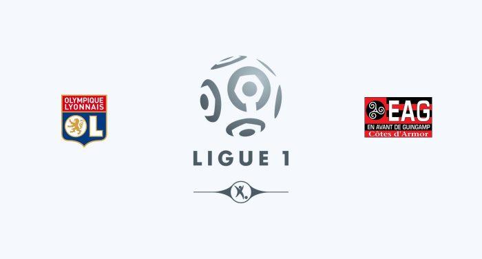 Olympique Lyon vs Guingamp Previa, Predicciones y Pronóstico