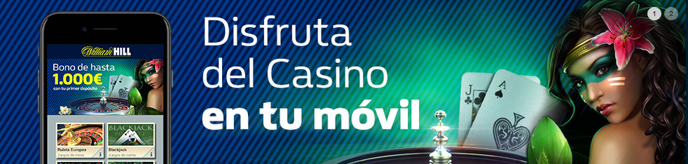 William Hill casino movil