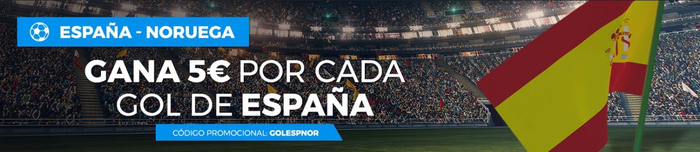 5€ por cada gol de España Paston