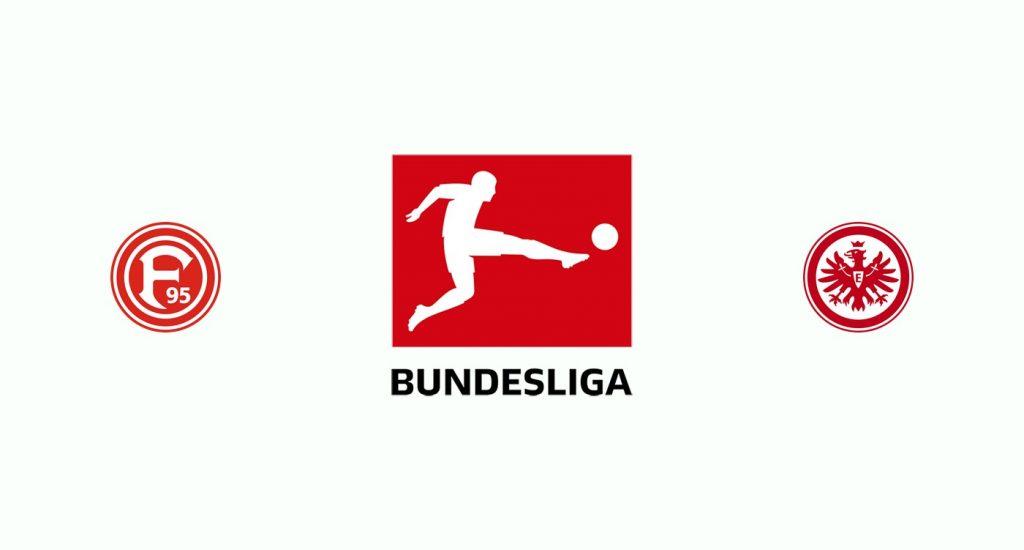 Fortuna Dusseldorf v Eintracht Frankfurt Previa, Predicciones y Pronóstico