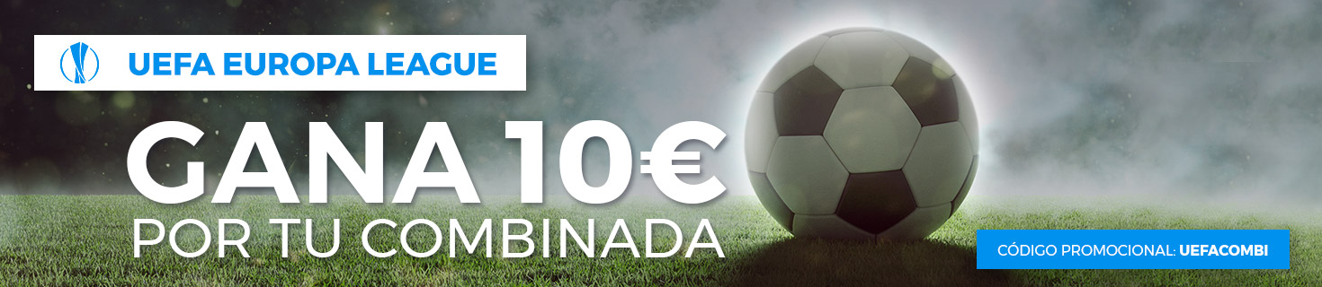 Europa League 10 euros gratis combinada Paston