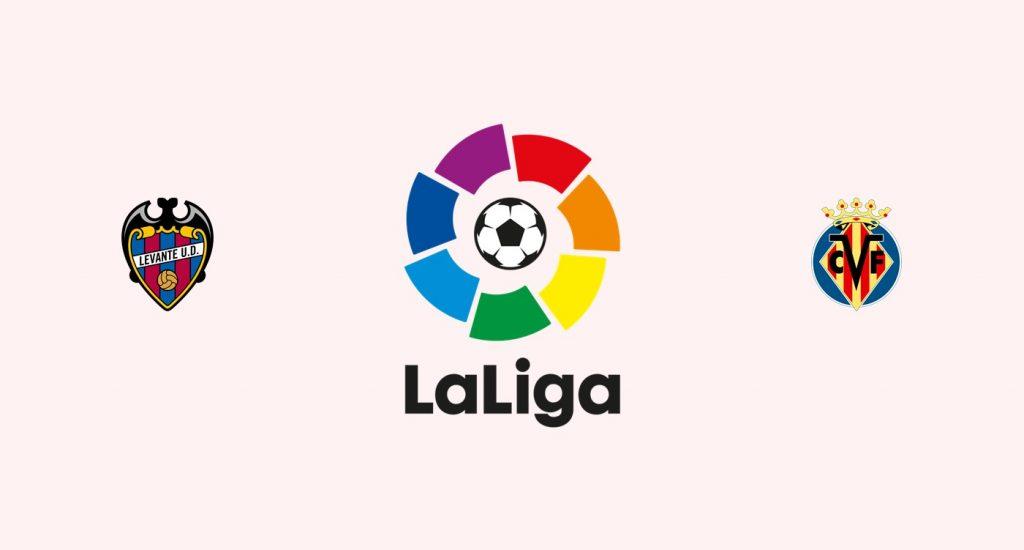 Levante v Villarreal Previa, Predicciones y Pronóstico