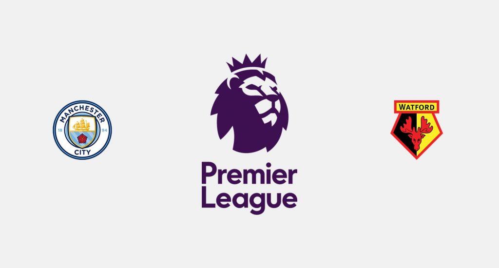 Manchester City v Watford Previa, Predicciones y Pronóstico