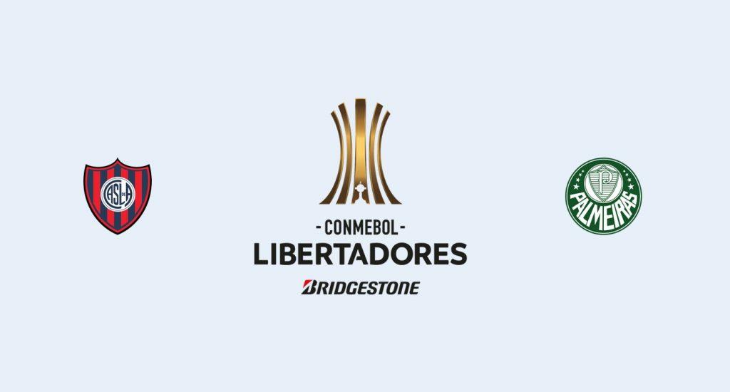 San Lorenzo v Palmeiras Previa, Predicciones y Pronóstico