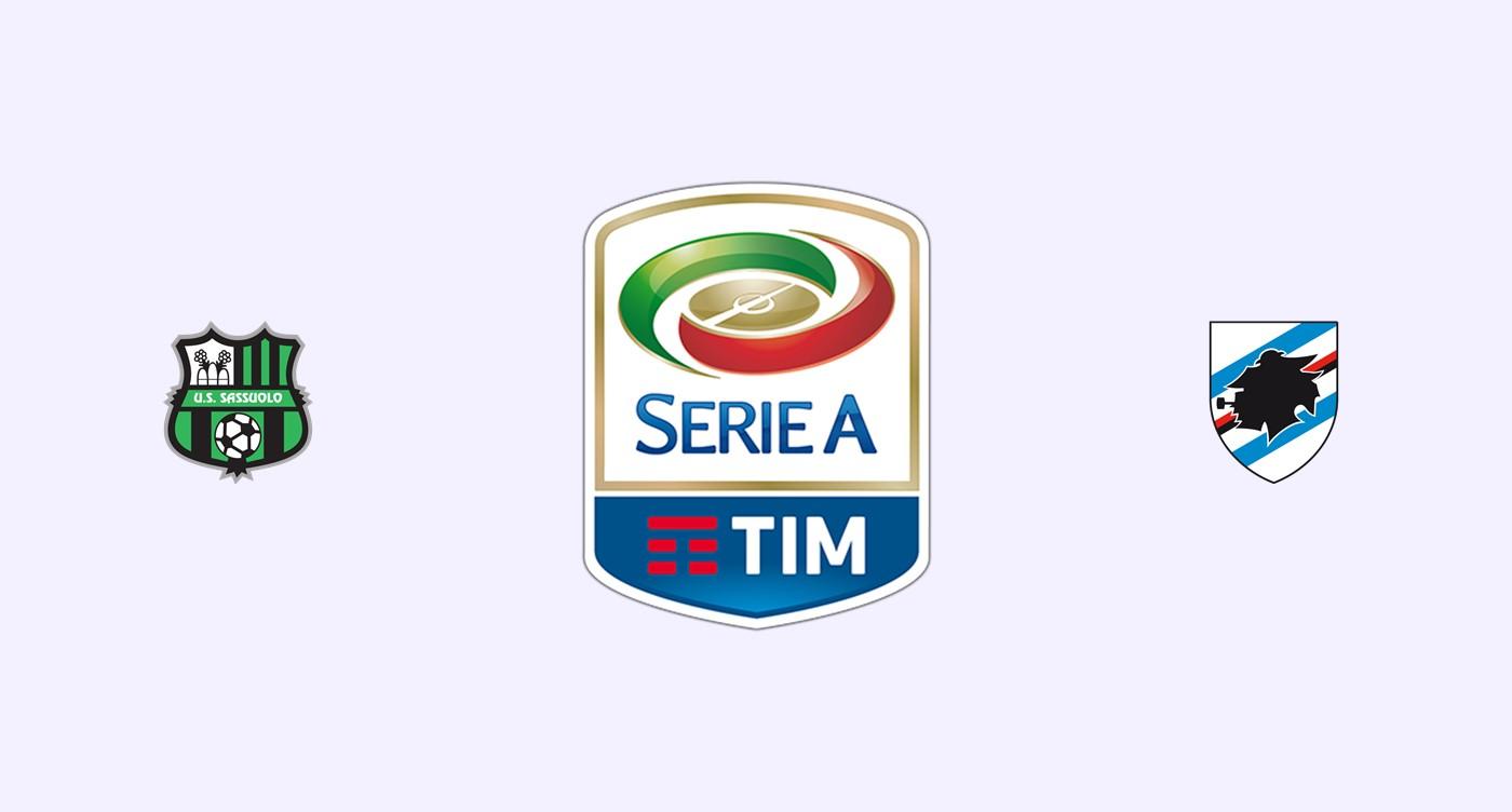 Sassuolo v Sampdoria