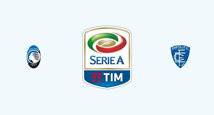 Atalanta v Empoli Previa, Predicciones y Pronóstico