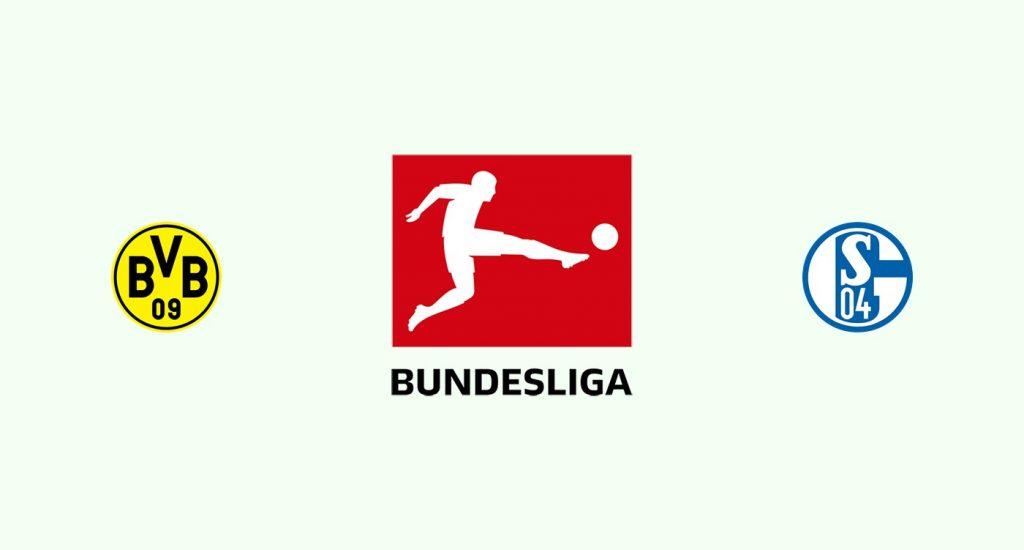 Borussia Dortmund v Schalke 04 Previa, Predicciones y Pronóstico