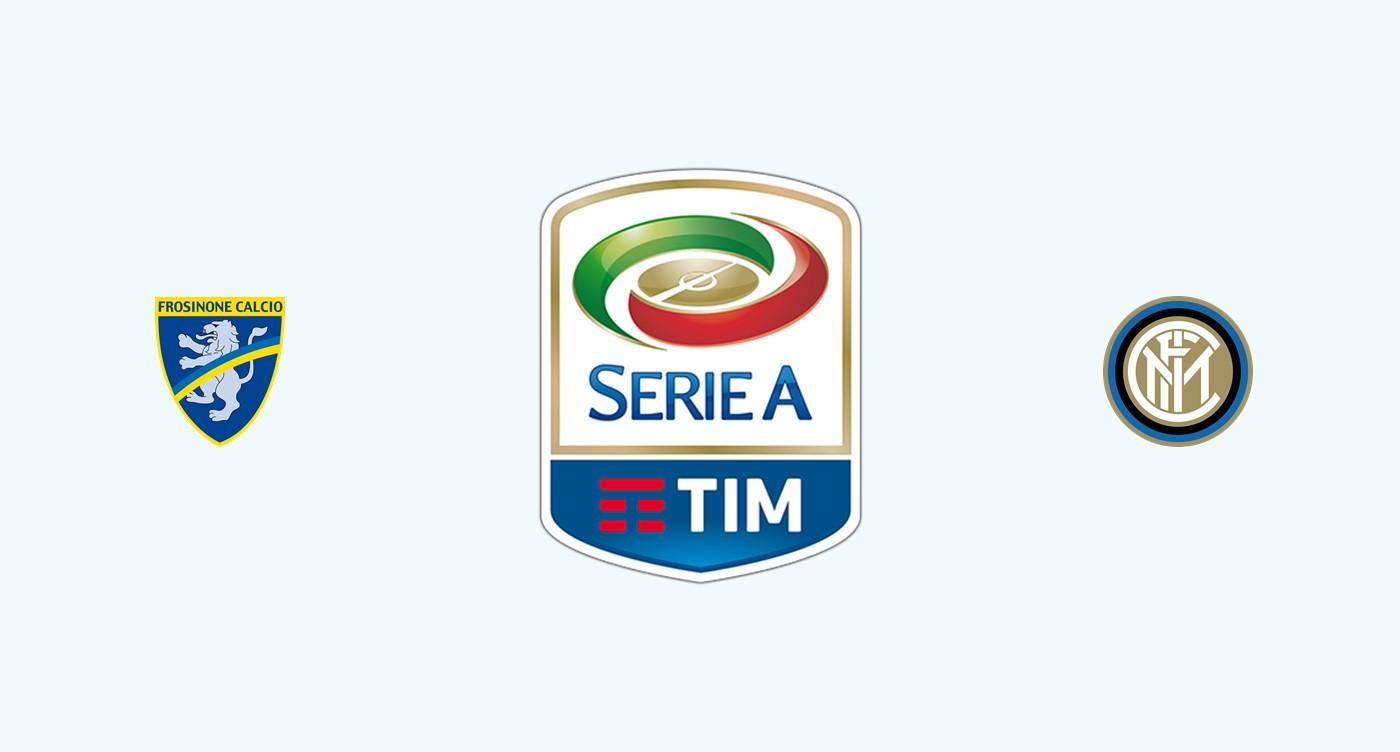 Frosinone v Inter Milan