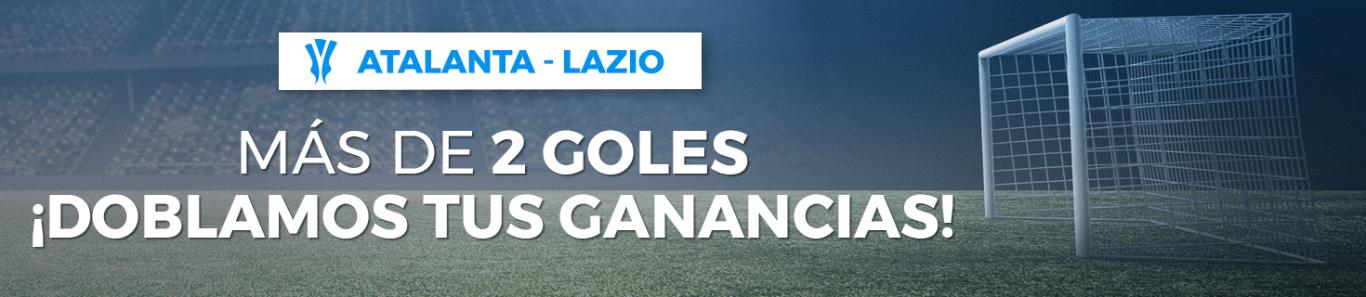 Atalanta v Lazio doblan ganancias si hay más de 2 goles