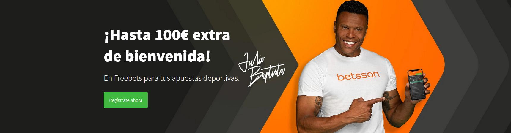 Betsson Bono Bienvenida