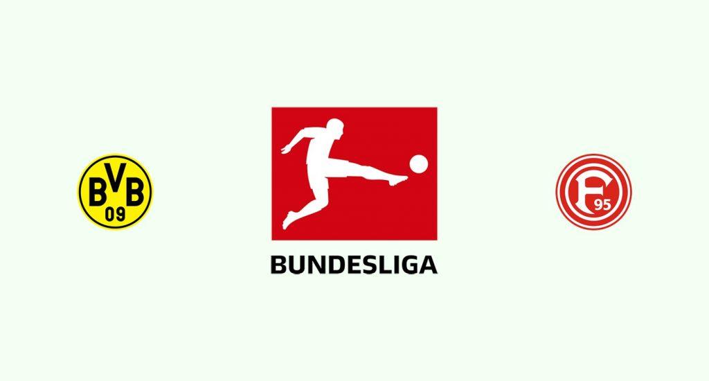 Borussia Dortmund v Fortuna Dusseldorf Previa, Predicciones y Pronóstico