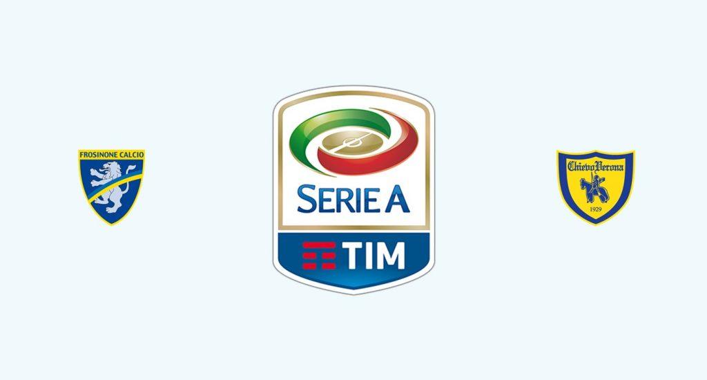 Frosinone v Chievo Previa, Predicciones y Pronóstico