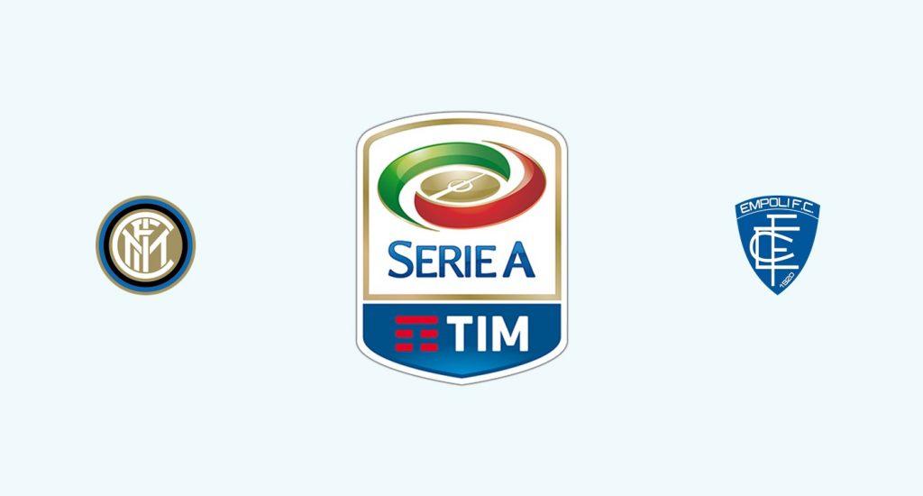 Inter Milán v Empoli Previa, Predicciones y Pronóstico