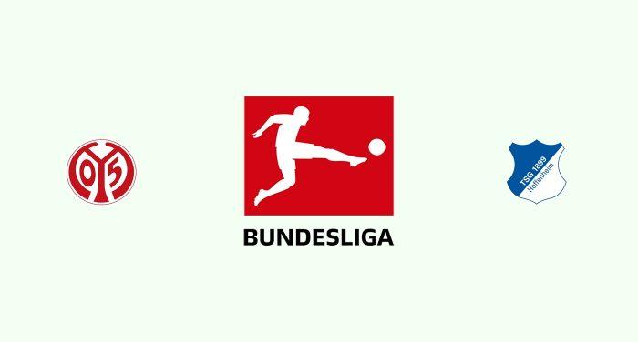 Mainz 05 v Hoffenheim Previa, Predicciones y Pronóstico