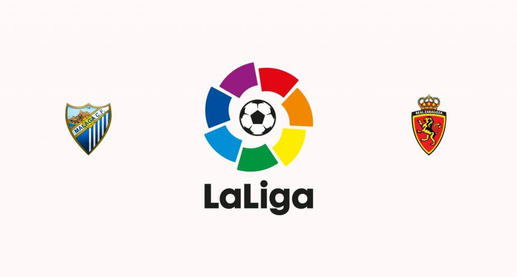 Málaga v Zaragoza Previa, Predicciones y Pronóstico
