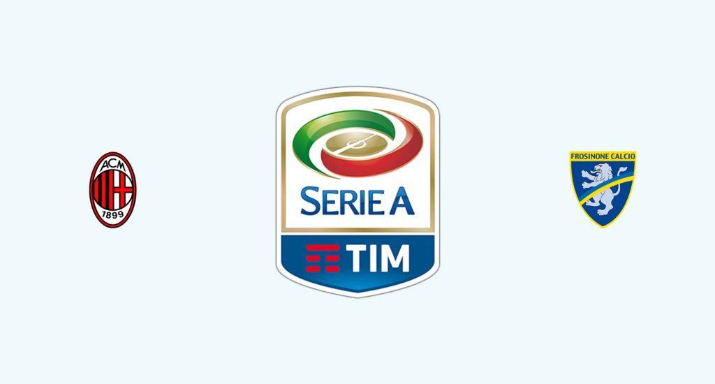 Milán v Frosinone Previa, Predicciones y Pronóstico