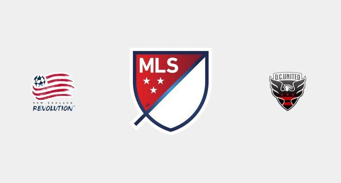 New England Revolution v DC United Previa, Predicciones y Pronóstico