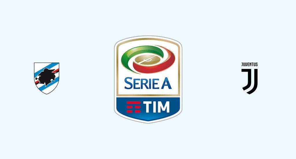 Sampdoria v Juventus Previa, Predicciones y Pronóstico