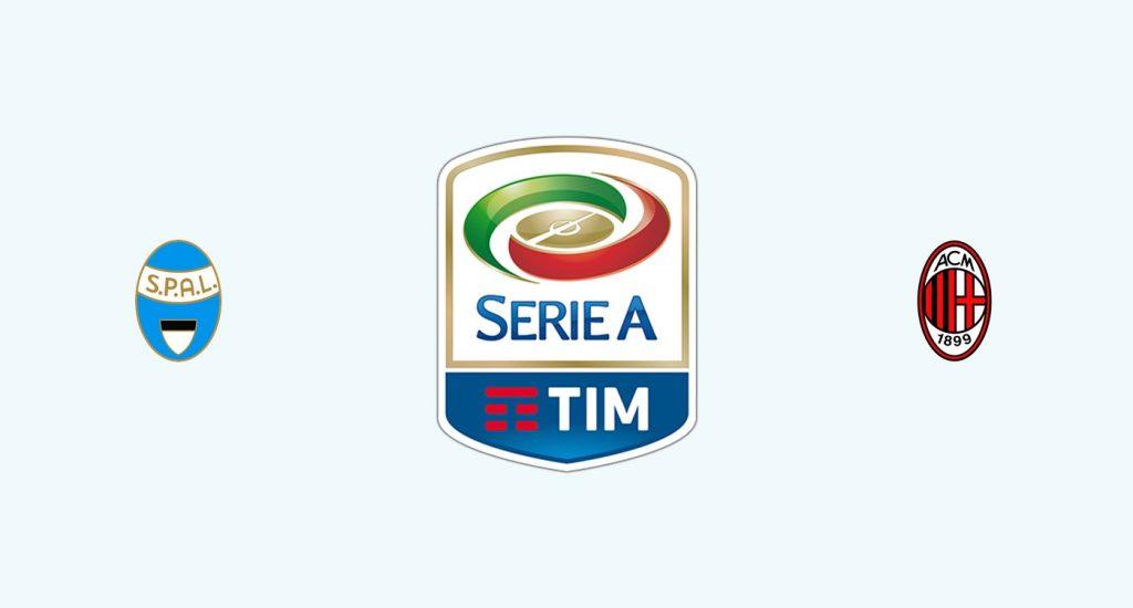 SPAL v Milán Previa, Predicciones y Pronóstico