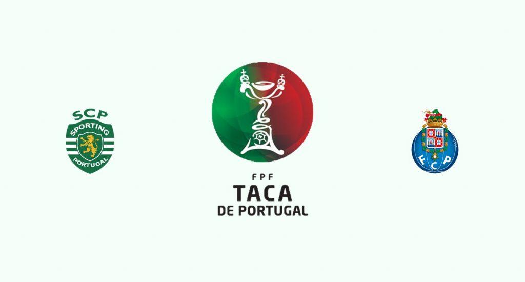 Sporting Lisboa v Oporto Previa, Predicciones y Pronóstico
