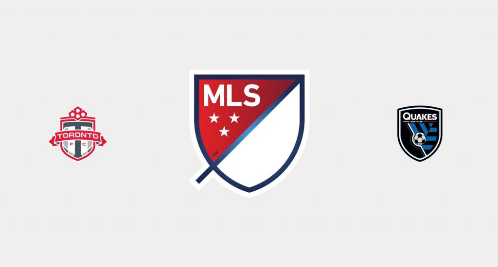 Toronto FC v San Jose Earthquakes Previa, Predicciones y Pronóstico