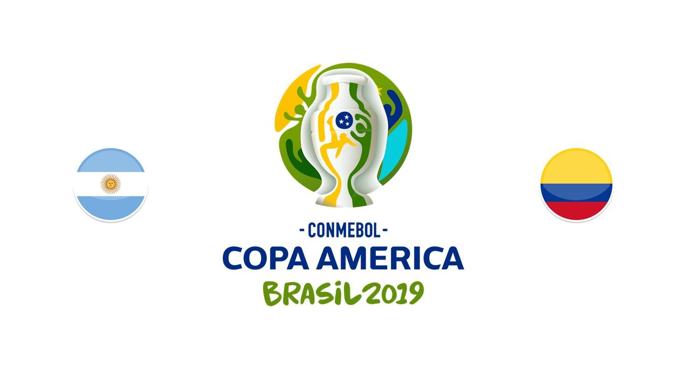 Argentina v Colombia