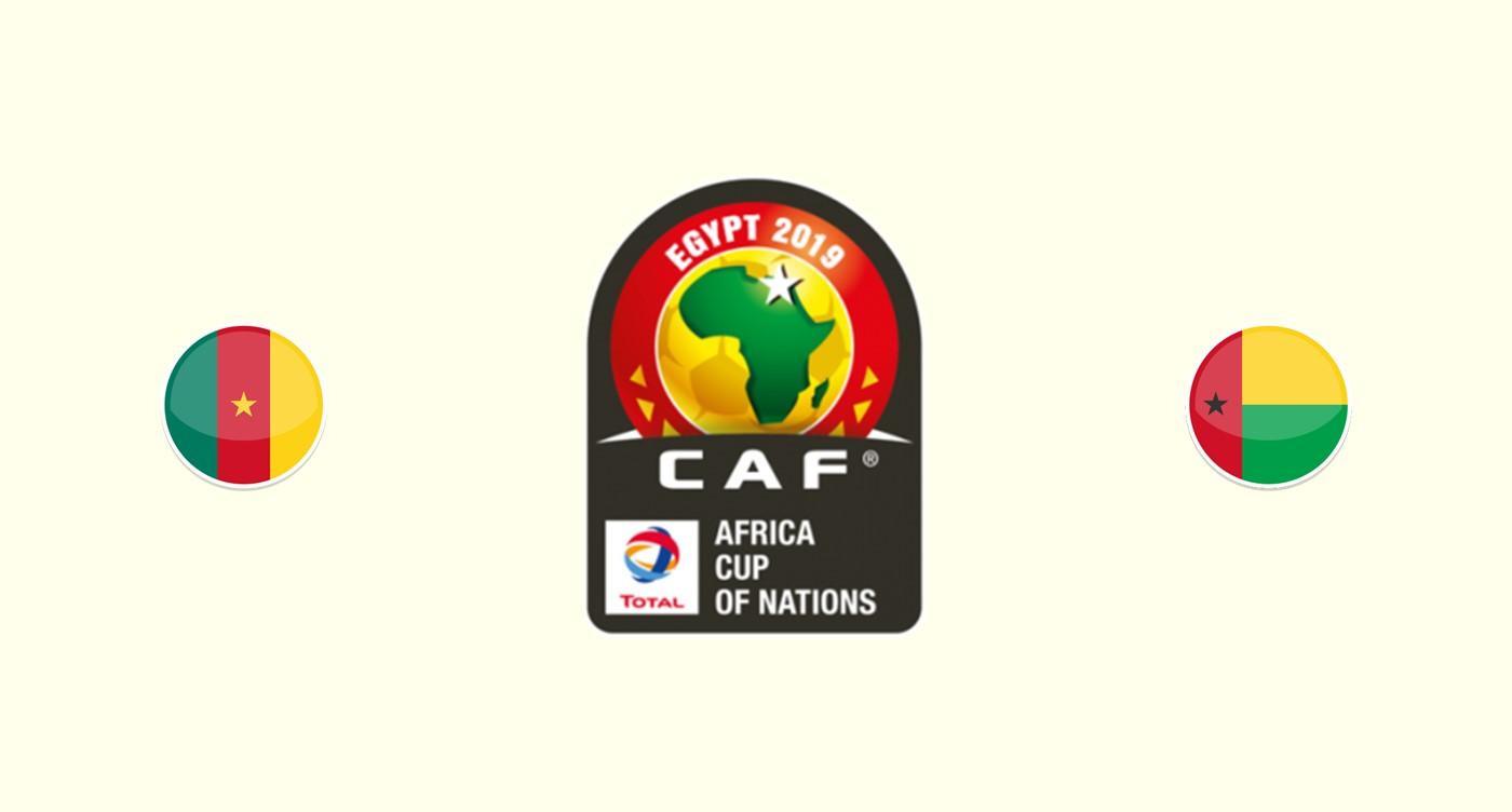 Camerun v Guinea Bissau