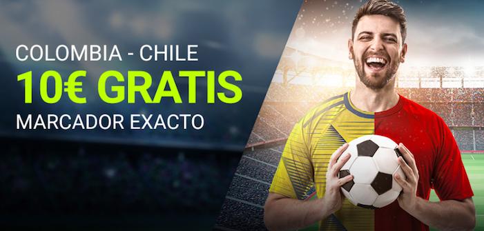 Colombia v Chile marcador exacto Luckia