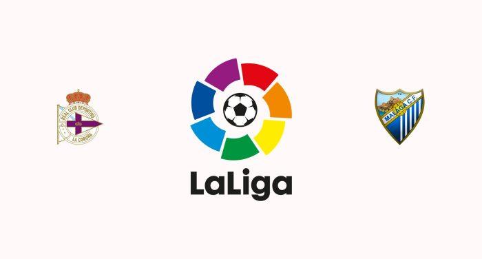 Deportivo La Coruña v Málaga Previa, Predicciones y Pronóstico