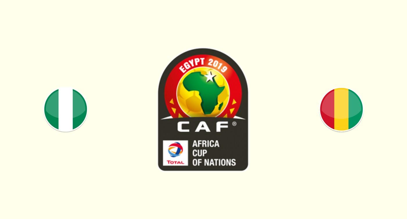 Nigeria v Guinea