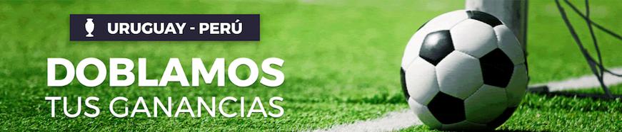 Uruguay v Perú dobla más de 2,5 goles
