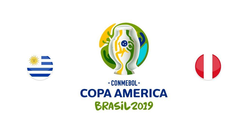 Uruguay v Perú Previa, Predicciones y Pronóstico 26-06-2019