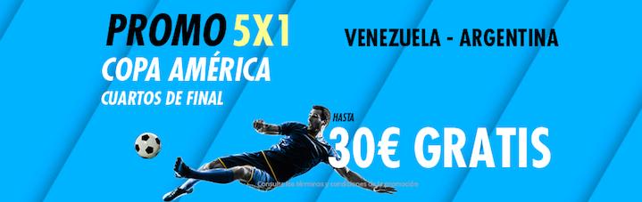 Venezuela Argentina bono Suertia
