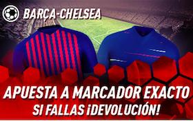 Barcelona v Chelsea oferta Sportium