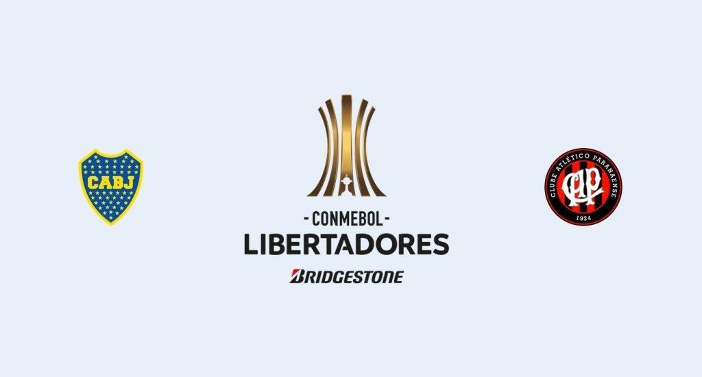 Boca Juniors v Athletico Paranaense Previa, Predicciones y Pronóstico