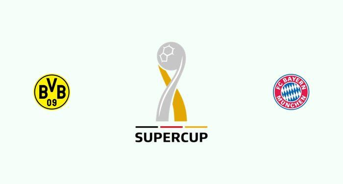 Borussia Dortmund v Bayern Munich Previa, Predicciones y Pronóstico 03-08-2019