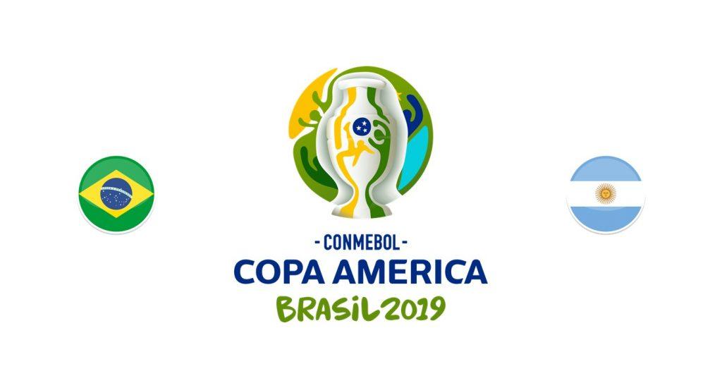 Brasil v Argentina Previa, Predicciones y Pronóstico 01-07-2019