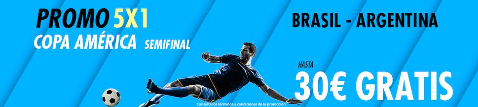 Brasil v Argentina bonus Suertia