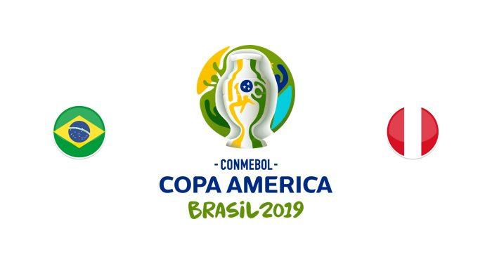 Brasil v Perú Previa, Predicciones y Pronóstico 04/15/2019
