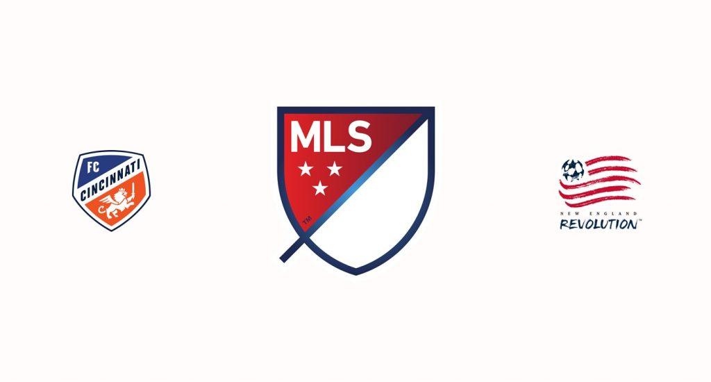 FC Cincinnati v New England Revolution Previa, Predicciones y Pronóstico