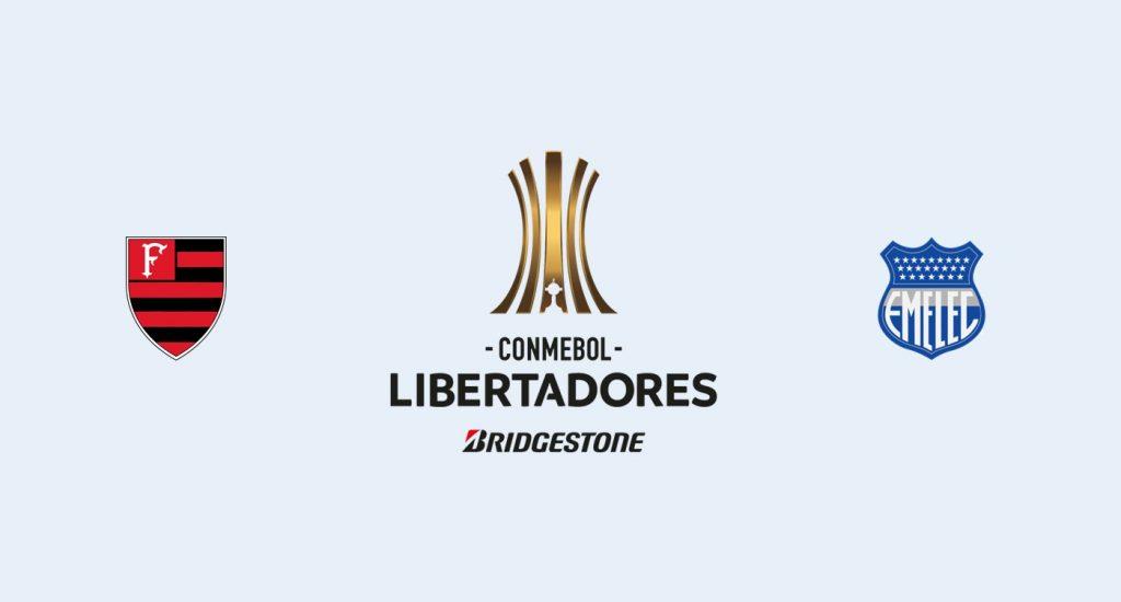 Flamengo v Emelec Previa, Predicciones y Pronóstico