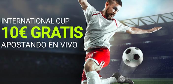 International Cup bonus Luckia
