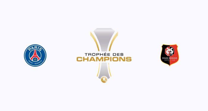 PSG v Stade Rennes Previa, Predicciones y Pronóstico 03/08/2019