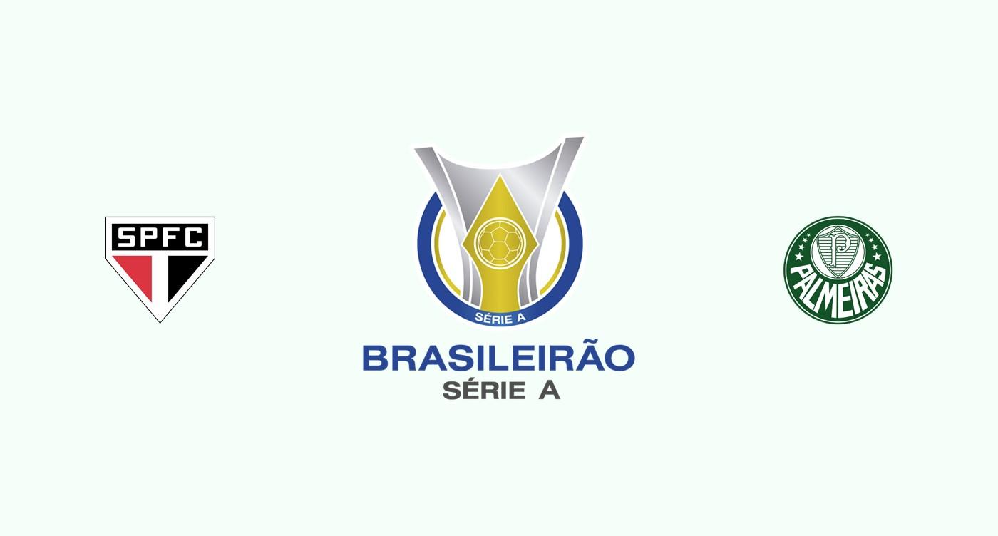 Sao Paulo v Palmeiras